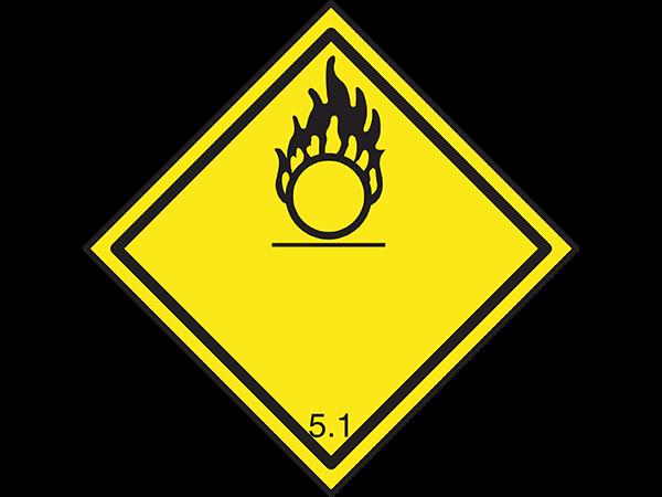 ADR Tablica za Transport opasnih materija
