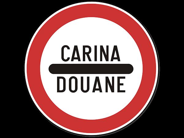 Carina saobraćajni znak